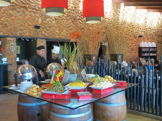Thaba Eco Hotel: A buffet to remember