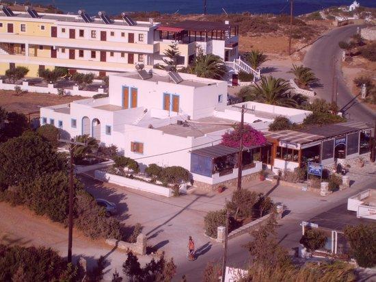 Esperida Hotel: vista dall'alto