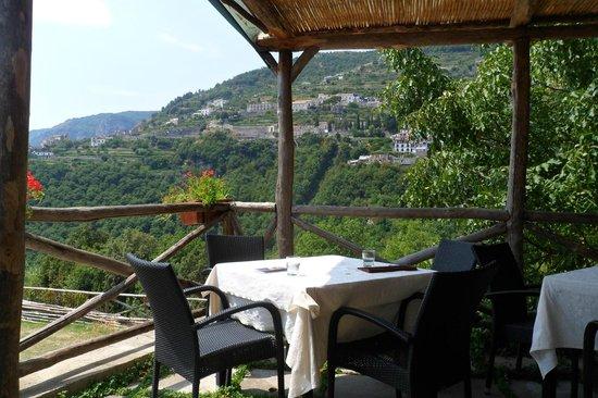 Il Ducato Di Ravello: View from dining/breakfast area