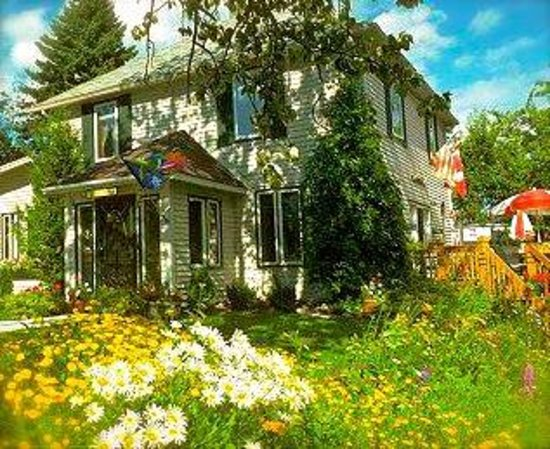 Art House Bed + Breakfast: Perennial gardens, a sunny deck, a quiet yard.