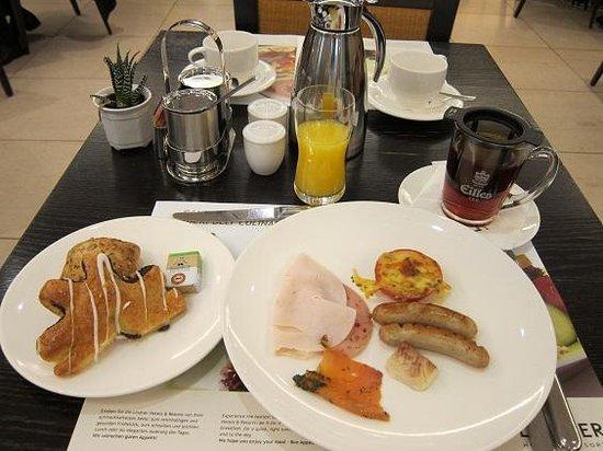 Lindner Hotel Am Belvedere: 朝食