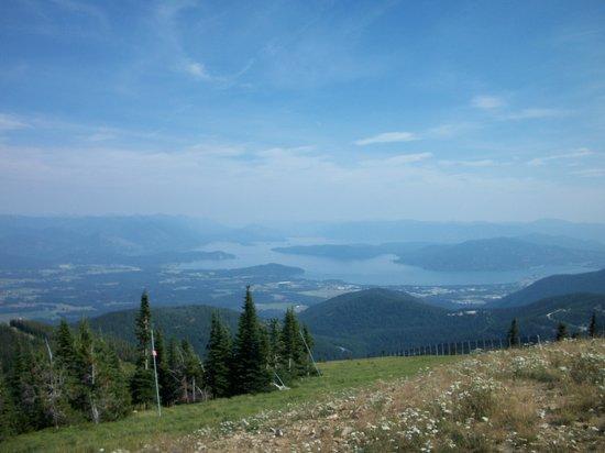 Schweitzer Mountain: Beautiful views!