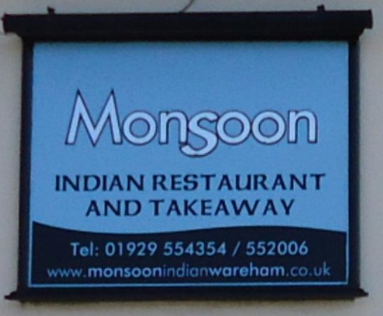 Monsoon Indian Cuisine: Sign