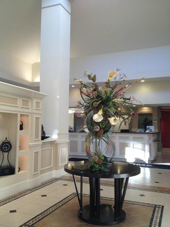 Hilton Garden Inn Beaumont : Entry