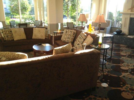 Hilton Garden Inn Beaumont : lobby
