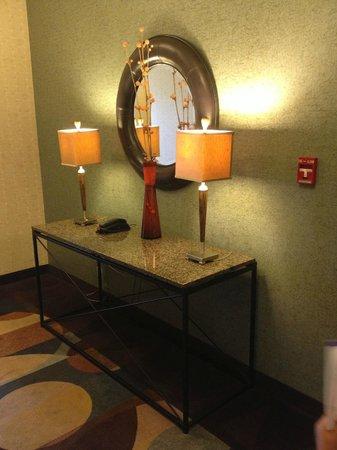 Hilton Garden Inn Beaumont : decor at the elevator