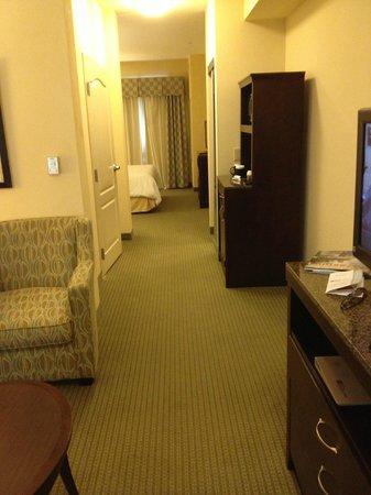 Hilton Garden Inn Beaumont : suite