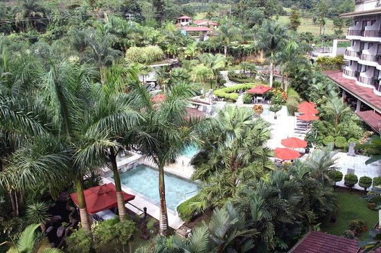 The Royal Corin Thermal Water Spa & Resort: View from hotel room