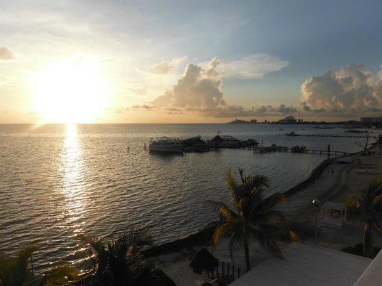 Holiday Inn Cancun Arenas: Vista desde la habitación