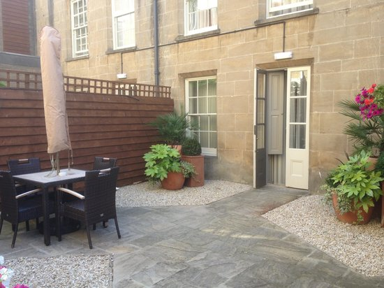 Vanbrugh House Hotel: Terraza de la suite
