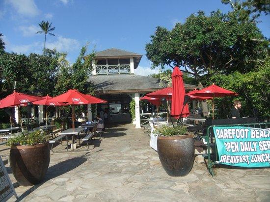 Barefoot Beach Cafe: 外