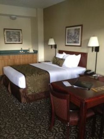 Quality Inn Johnson City: Large room, very comfortalble