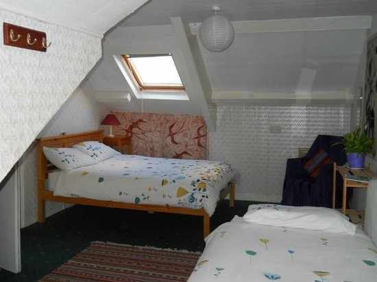 Falmouth Lodge Backpackers : New attic en-suite room