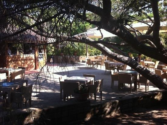 Roccamare Resort: il bar della spiaggia