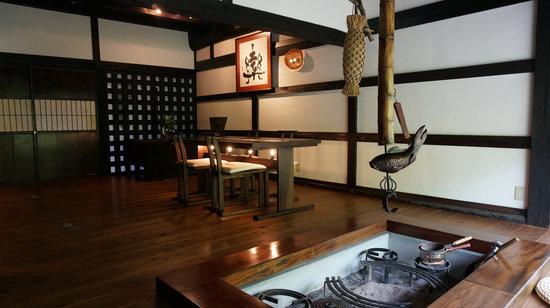 Somabitonosato Hikiya: 食事スペース