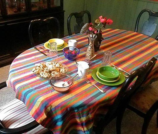 Art House Bed + Breakfast: Breakfast for two-- all homemade!