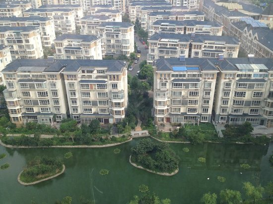 Four Points by Sheraton Taicang : View from next to the elevator