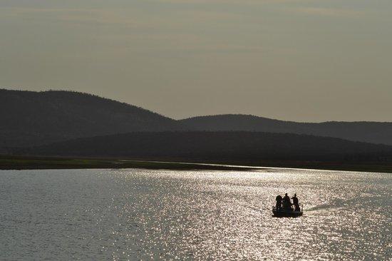 Nkwazi Lake Lodge: panorama