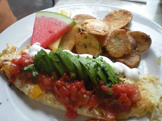Eggspectation Complex Desjardins: Southwest Omelette