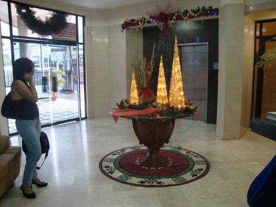 Hotel Costa Real : entrada del hotel