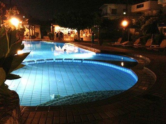 Lefka Apartments: Pool and bar