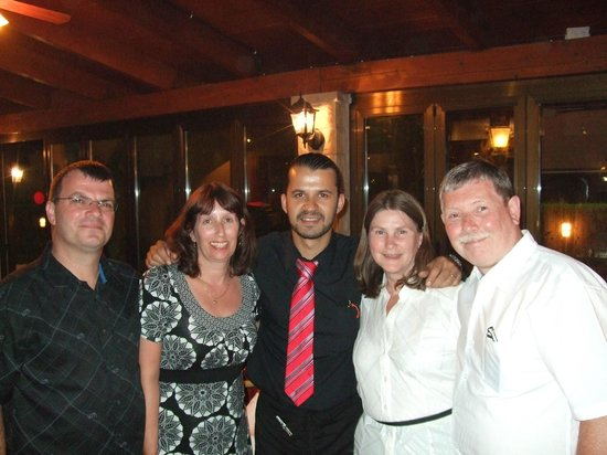 Rancho Chico: jose in middle with my brother on left and my wife and i in white