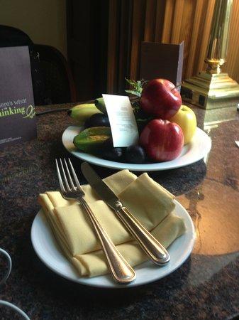 Sheraton Mexico City Maria Isabel Hotel: Complimentary fruit basket