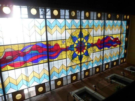 Hotel Posada San Francisco: techo are de recepcion