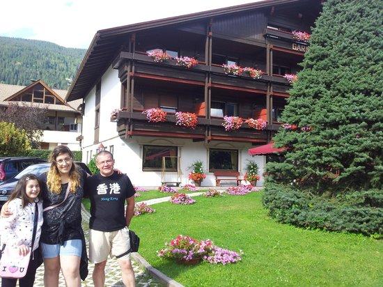 Hotel Garni Senfter: la mia famiglia felice al Garni Senfter