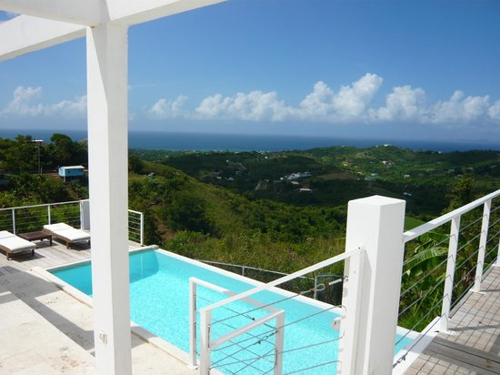 360 Vieques: pool with a view