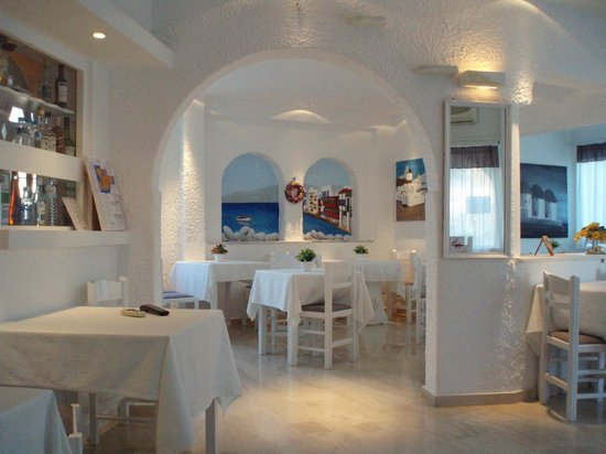 Milena Hotel : This is the main dining room where you can have breakfast.
