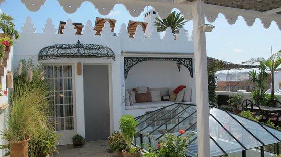 La Tangerina: roof terrace