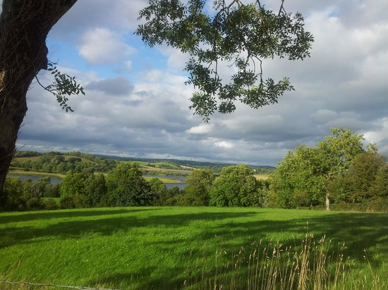 Willowbank House: One of the great views from the garden