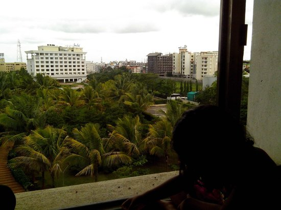 Sun-n-Sand Hotel, Shirdi: View from serviced apartments