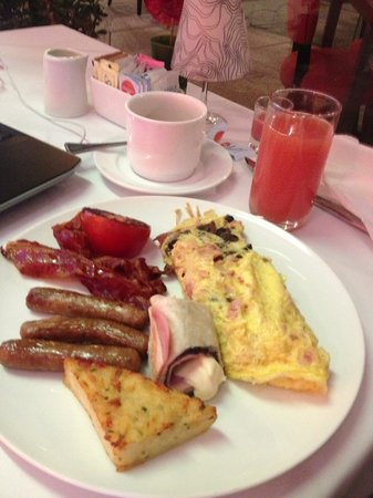 Le Meridien Mexico City: Breakfast