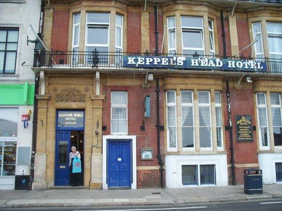 Keppels Head: front of building