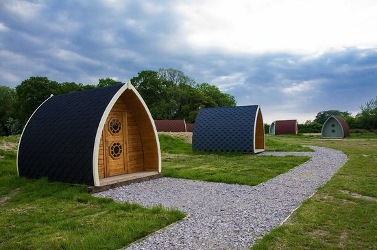 Stanley Villa Farm Camping: Camping Pods