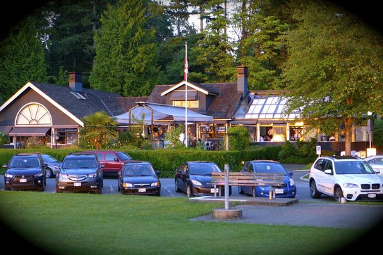 Teahouse in Stanley Park : The Teahouse
