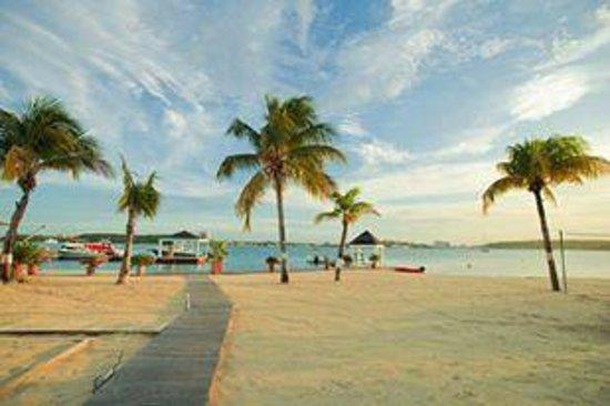 Mercure Saint-Martin Marina & Spa: the beach