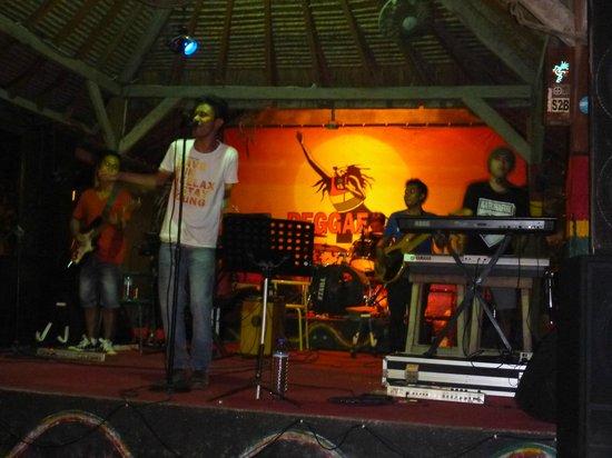 Sama Sama Bar: The band at the Samo Samo Bar