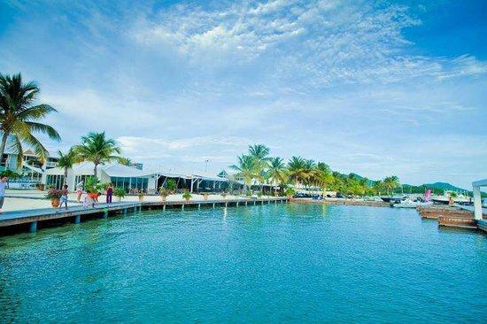 Mercure Saint-Martin Marina & Spa: lagoon