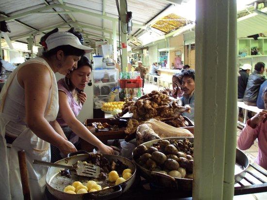 Pululahua Hostal: Market in Otavalo
