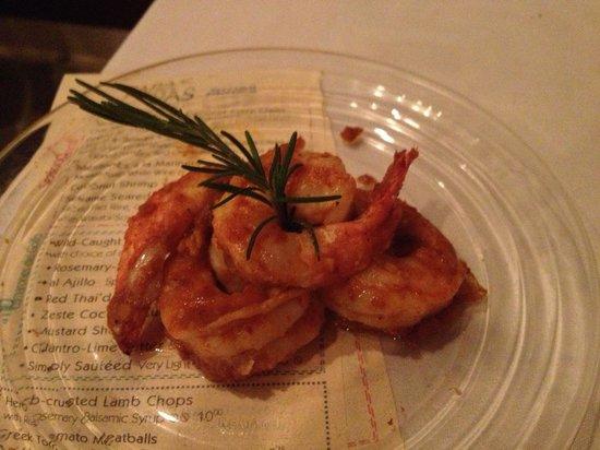 Zeste Cafe & Market: Thai shrimp