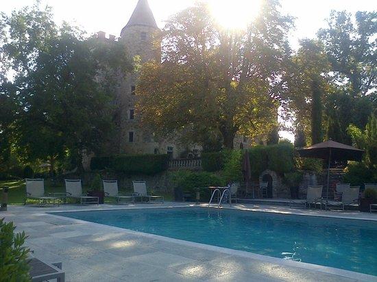 Chateau De Codignat : piscine