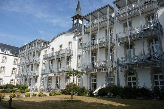 Pierre & Vacances Résidence Saint Goustan : la façade