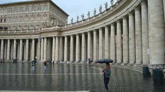 Vatican : outside in front of st. peter