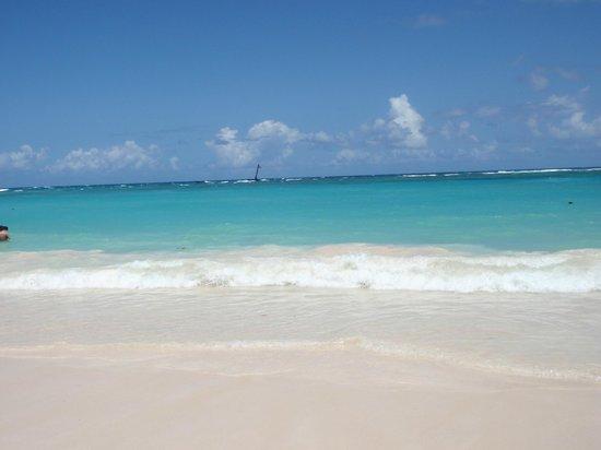 Grand Bahia Principe Punta Cana: Mare spettacolare