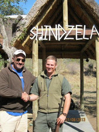 Shindzela Tented Camp: Michael the incredible guide