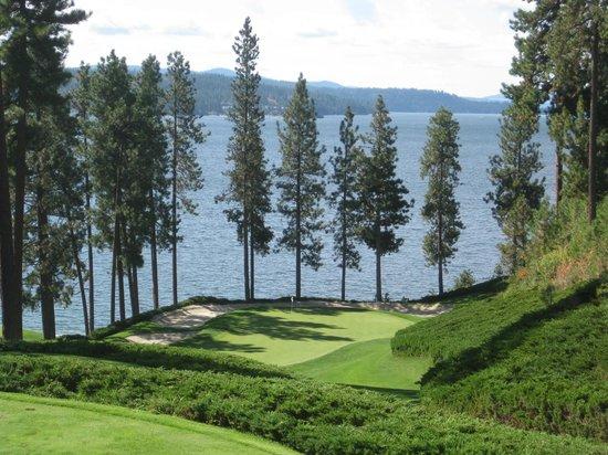 Coeur d'Alene Resort Golf Course: Hole #6 @ Coeur d'Alene Resort Course
