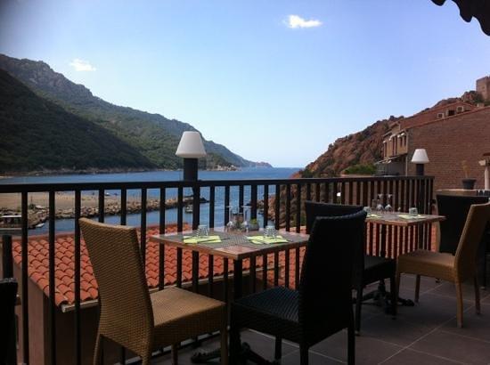 Le Panorama: la terrasse